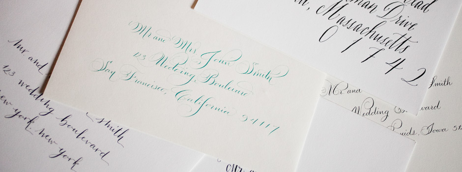 Calligraphy Addressing