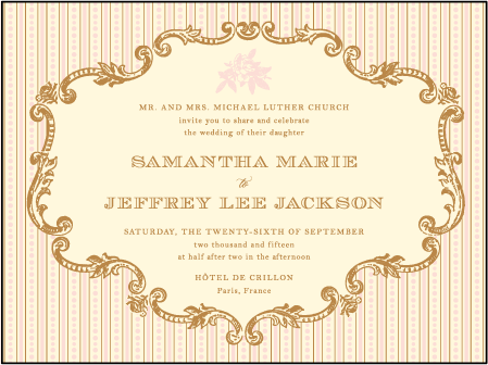 A Bientot Letterpress Invitation Design Medium