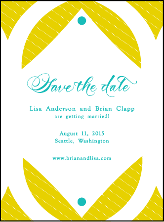 Alice Letterpress Save The Date Design Medium
