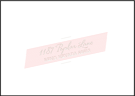 Anais Letterpress Reply Envelope Design Medium