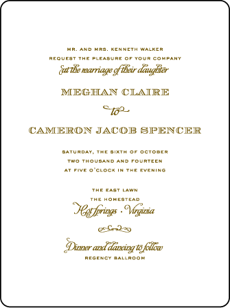 Ashwell Letterpress Invitation Design Medium