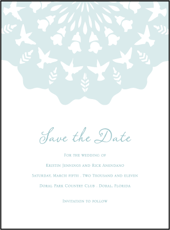 Barcelona Letterpress Save The Date Design Medium