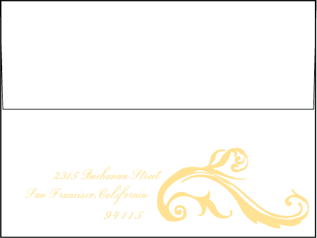 Beale Letterpress Envelope Design Medium
