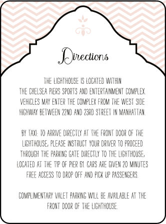 Boardwalk Letterpress Direction Design Medium