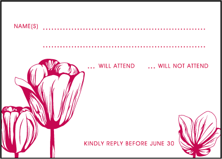 Botanicals Letterpress Reply Design Medium