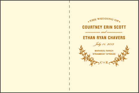 Branch Letterpress Program Design Medium