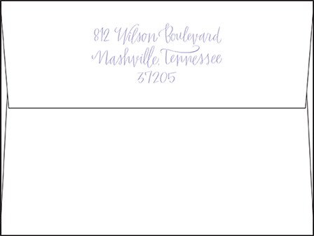 Browning Letterpress Envelope Design Medium