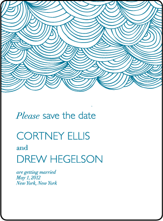 Camilla Letterpress Save The Date Design Medium
