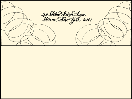 Canto Letterpress Envelope Design Medium