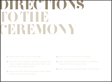 Carly Letterpress Direction Design Medium