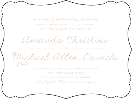 Charlotte Letterpress Invitation Design Medium