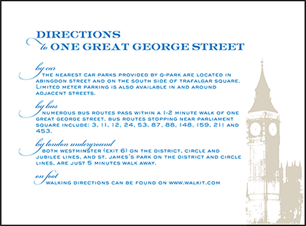 Charmed London Letterpress Direction Design Medium