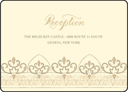 Claddagh Letterpress Reception Design Medium