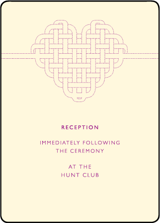 Connected Letterpress Reception Design Medium