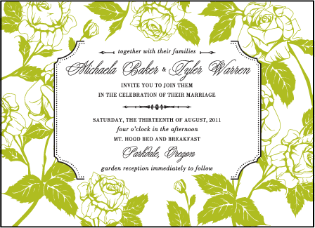 Cotillion Letterpress Invitation Design Medium
