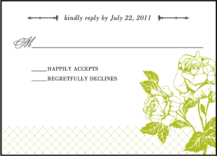 Cotillion Letterpress Reply Design Medium