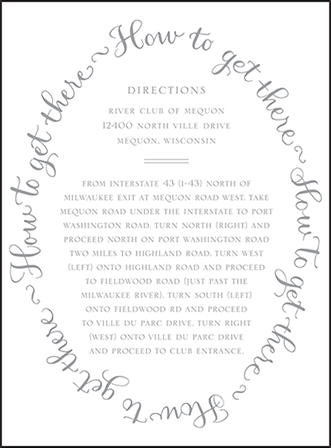 Credence Letterpress Direction Design Medium