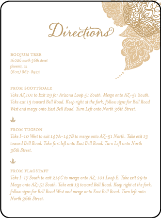 Divya Formal Letterpress Direction Design Medium
