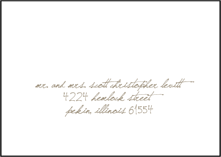 Drawing Room Letterpress Reply Envelope Design Medium