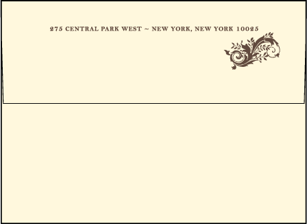 Empire Letterpress Envelope Design Medium