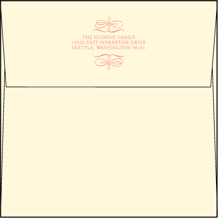 Enya Letterpress Envelope Design Medium