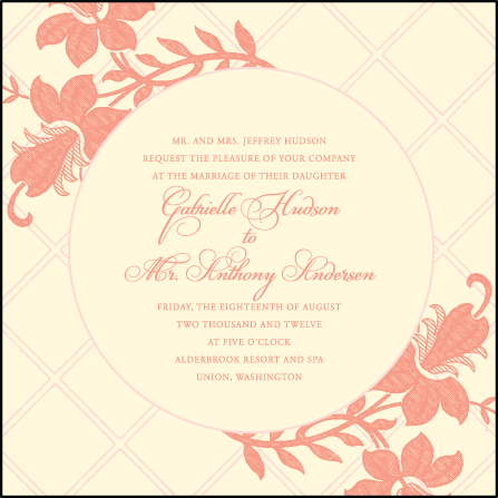 Enya Letterpress Invitation Design Medium