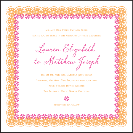 Esperanza Letterpress Invitation Design Medium