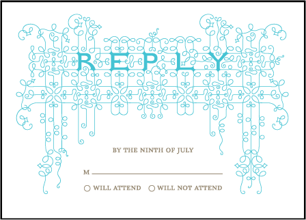 Exuberance Letterpress Reply Design Medium