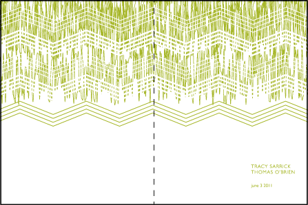 Fields Letterpress Program Design Medium