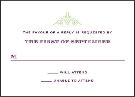Filigree Letterpress Reply Design Medium