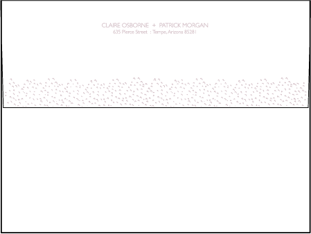 Fresh Letterpress Envelope Design Medium