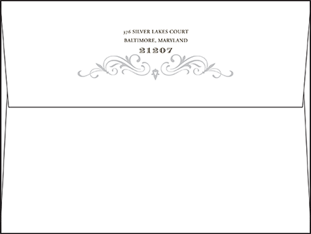 Gilford Letterpress Envelope Design Medium