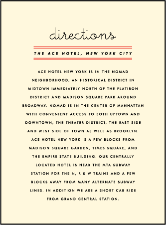 Gotham Letterpress Direction Design Medium