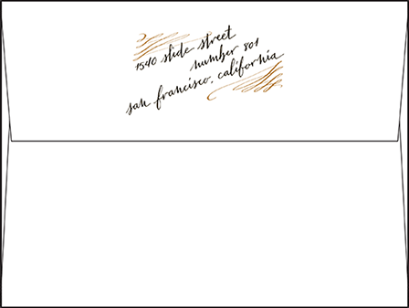 Gracieux Letterpress Envelope Design Medium