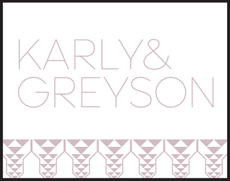 Greyson Letterpress Stamp Design Medium