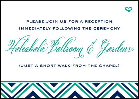 Hailey Modern Letterpress Reception Design Medium