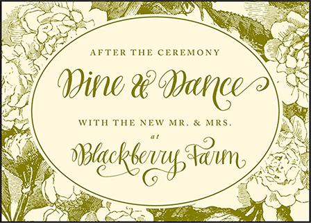 Imogene Letterpress Reception Design Medium