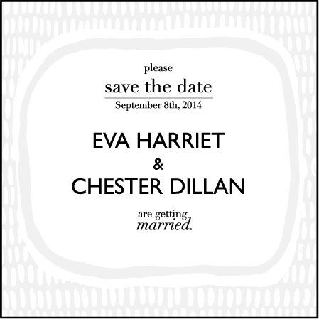 Indie Twill Letterpress Save The Date Design Medium