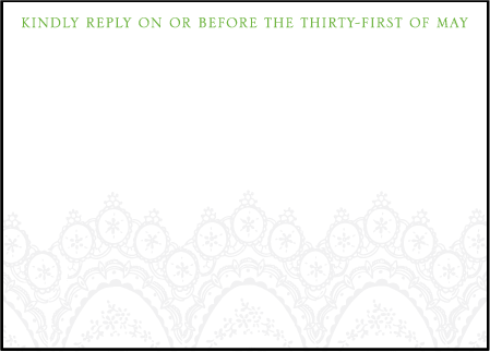Istanbul Lace Letterpress Reply Design Medium