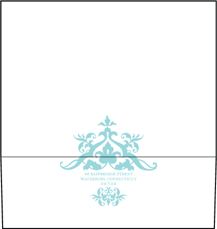 Jolie Letterpress Envelope Design Medium