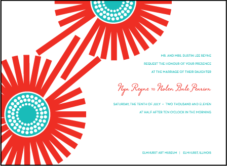 Joy Letterpress Invitation Design Medium