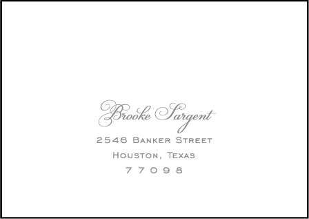 Keswick Letterpress Reply Envelope Design Medium