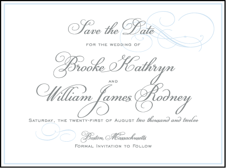 Keswick Letterpress Save The Date Design Medium