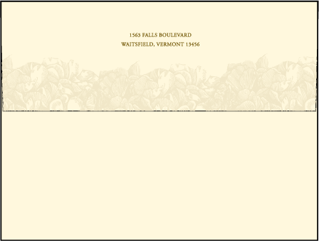 Leigha Spring Letterpress Envelope Design Medium