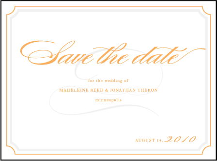 Lexington Letterpress Save The Date Design Medium