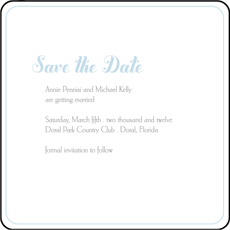 Linden Summer Letterpress Save The Date Design Medium