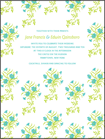 Linnea Letterpress Invitation Design Medium