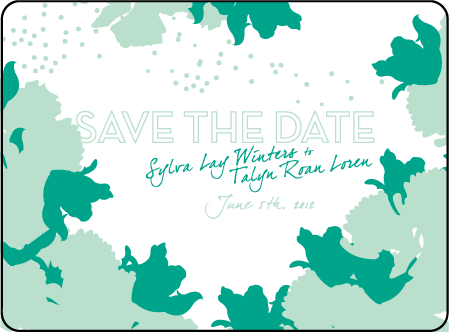Love Notes Letterpress Save The Date Design Medium
