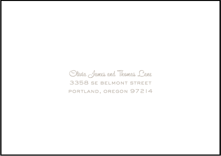 Lumos Letterpress Reply Envelope Design Medium