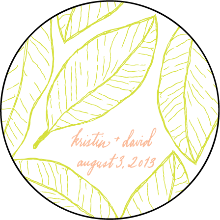 Maile Letterpress Coaster Design Medium